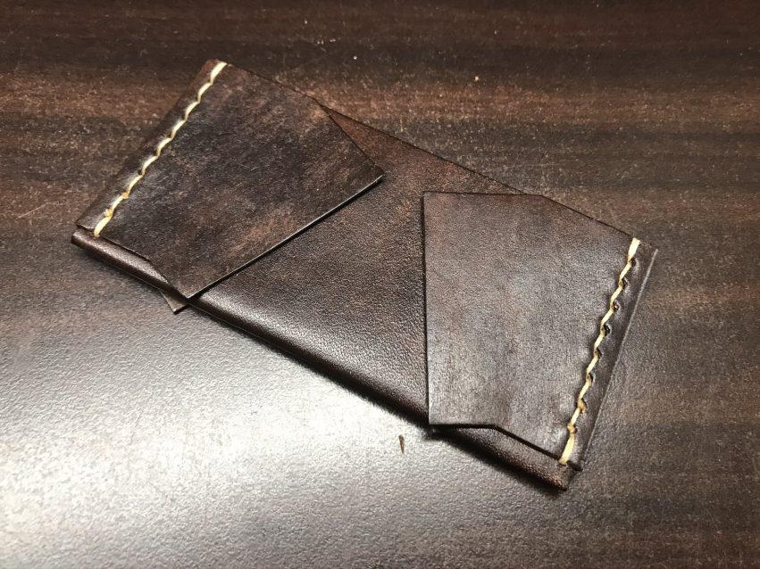 小銭を入れる部分の製作