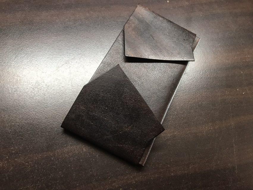 小銭を入れる部分にマチをこのように取り付ける
